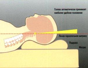 Лечение остеохондроза, валик, подушка из гречки