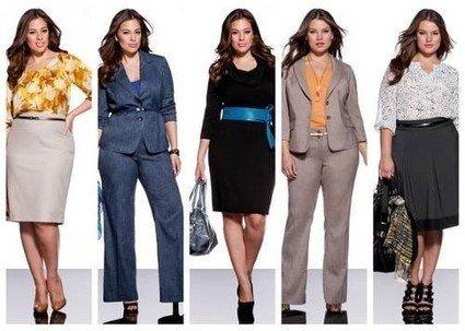 Как стильно одеваться полным девушкам