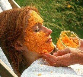 Морковь для лица и шеи