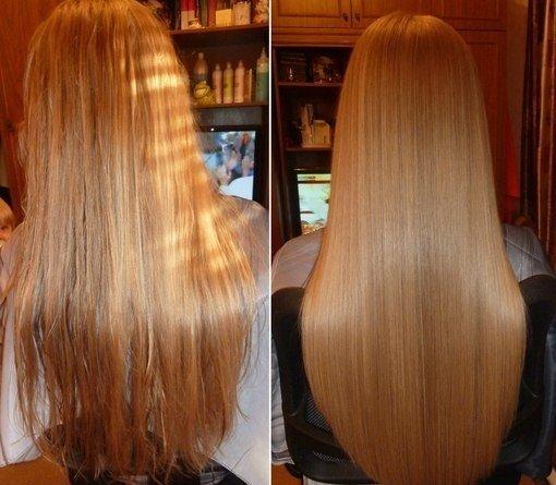 Как сделать маску из желатина для волос