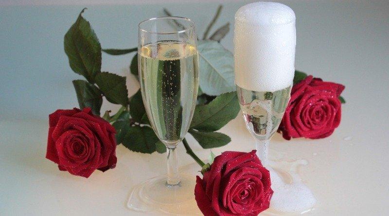сатурированное и резервуарное шампанское