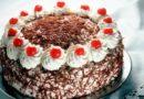 Вишневый сметанный торт