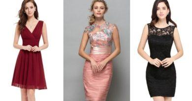 Коктейльные платья 2018 - фото